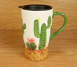 Whittier Cactus Travel Mug