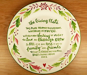 Whittier The Giving Plate